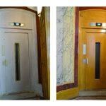 Ascenseur avant/après